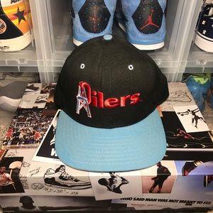 Vintage Houston Oilers Adjustable Hat Snapback